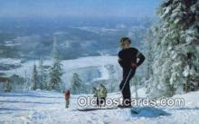 spo025464 - Mont Tremblant, Quebec, Canada Ski, Skiing Postcard Post Card Old Vintage Antique