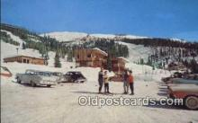 spo025481 - Big Mountain Resort, Whitefish, MT USA Ski, Skiing Postcard Post Card Old Vintage Antique