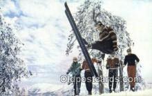 spo025508 - Snow Summit, Big Bear Lake, CA USA Ski, Skiing Postcard Post Card Old Vintage Antique