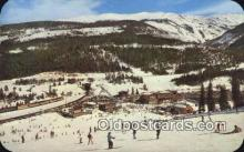 spo025510 - Winter Park Ski Area, Winter Park, CO USA Ski, Skiing Postcard Post Card Old Vintage Antique