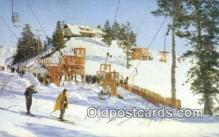 spo025511 - Sun Valley, ID USA Ski, Skiing Postcard Post Card Old Vintage Antique
