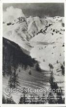 spo025524 - Auron Ski, Skiing Postcard Post Card Old Vintage Antique