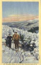 spo025545 - Cannon Mountain, Franconia Notch, NH USA Ski, Skiing Postcard Post Card Old Vintage Antique
