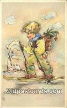 spo025550 - Ski, Skiing Postcard Post Card Old Vintage Antique