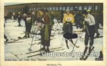 spo025564 - Montreal, PQ Skiing Postcard Post Card Old Vintage Antique