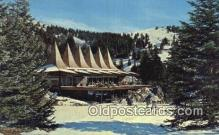 spo025580 - Ski Sierra Blanca, Ruidoso, NM USA Skiing Postcard Post Card Old Vintage Antique