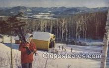 spo025589 - Whiteface Mountain,NY USA Skiing Postcard Post Card Old Vintage Antique