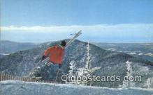 spo025593 - Starting Off With A Gelandestrung Skiing Postcard Post Card Old Vintage Antique