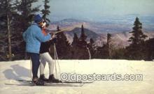 spo025601 - Jay Peak, Jay, VT USA Skiing Postcard Post Card Old Vintage Antique