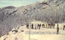 spo025631 - Stowe, Vermont, VT USA Skiing Postcard Post Card Old Vintage Antique