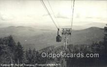 spo025633 - Cannon Mt Aerial Tranway, Franconia Notch, New Hampshire, NH USA Skiing Postcard Post Card Old Vintage Antique