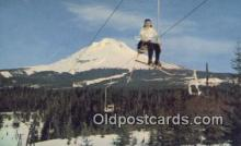 spo025643 - Mount Hood, Oregon, OR USA Skiing Postcard Post Card Old Vintage Antique