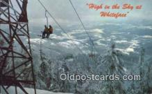 spo025645 - Whiteface Mountain Ski Center, New York, NY USA Skiing Postcard Post Card Old Vintage Antique