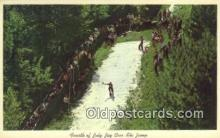 spo025654 - Jay Cees Ski Jump Fourth Of July, Lake Placid, NY USA Skiing Postcard Post Card Old Vintage Antique