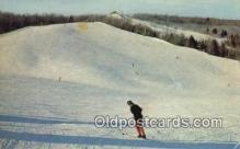 spo025656 - Otsego Ski Club, Gaylord, Michigan, MI USA Skiing Postcard Post Card Old Vintage Antique