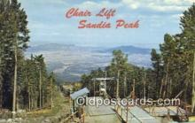 spo025659 - Sandia Peak Ski Area, Albuquerque, New Mexico, NM USA Skiing Postcard Post Card Old Vintage Antique
