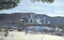 spo025674 - Thunder Mountain Ski Area, Mohawk Trail, Charletmont, Massachusetts, MA USA Skiing Postcard Post Card Old Vintage Antique