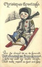 spo025801 - Ski, Skiing Postcard Post Card Old Vintage Antique