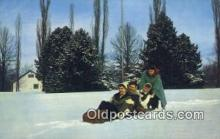 spo025810 - Eden Hall Farm, Gibsonia, PA USA Ski, Skiing Postcard Post Card Old Vintage Antique