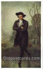 spo025843 - The Skater, Gilbert Stuart, National Gallery Of Art, Washington DC , USA Ice Skating Postcard Post Card Old Vintage Antique