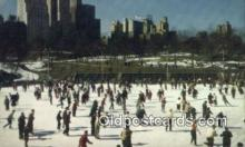 spo025845 - Wollman Memorial Skating Rink In Central Park, New York City, New York, NY USA Ice Skating Postcard Post Card Old Vintage Antique
