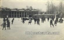 spo025851 - Ice Skating Postcard Post Card Old Vintage Antique