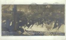 spo025863 - Rousseau Decelle  Ice Skating Postcard Post Card Old Vintage Antique