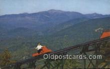 spo025866 - Mt Cranmore Skimobile, North Conway, New Hampshire, NH USA Winter Sports Postcard Post Card Old Vintage Antique