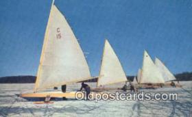 spo025867 - Winter Sports Postcard Post Card Old Vintage Antique