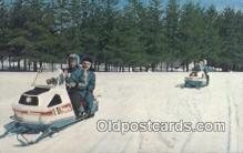 Snowmobiles, Ice Taxies, Canadian Rockies
