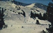 spo025886 - Mommoth Mountain Mammoth Lakes California, CA USA Postcard Post Card, Carte Postale, Cartolina Postale, Tarjets Postal,  Old Vintage Antique