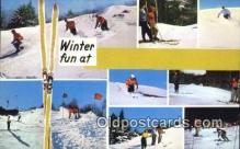 spo025902 - Winter Fun  Postcard Post Card, Carte Postale, Cartolina Postale, Tarjets Postal,  Old Vintage Antique