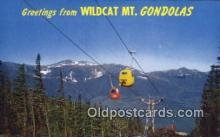 spo025919 - Wildcat Mt. Gondlas Pinkham Notch, Jackson, NH, USA Postcard Post Card, Carte Postale, Cartolina Postale, Tarjets Postal,  Old Vintage Antique