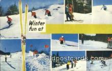 spo025936 - Winter Fun  Postcard Post Card, Carte Postale, Cartolina Postale, Tarjets Postal,  Old Vintage Antique