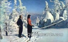 spo025939 - Winter Wonderland New England Style, USA Postcard Post Card, Carte Postale, Cartolina Postale, Tarjets Postal,  Old Vintage Antique