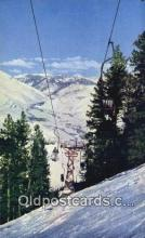 spo025946 - Top of Canyon Lift Sun Valley Idaho, ID UDA Postcard Post Card, Carte Postale, Cartolina Postale, Tarjets Postal,  Old Vintage Antique