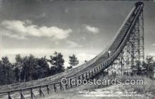 spo025965 - Pine Mountain Ski Slide Iron Mountain Michigan, USA Postcard Post Card, Carte Postale, Cartolina Postale, Tarjets Postal,  Old Vintage Antique