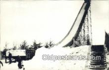 spo025966 - Pine Mountain Ski Slide Iron Mountain Michigan, USA Postcard Post Card, Carte Postale, Cartolina Postale, Tarjets Postal,  Old Vintage Antique