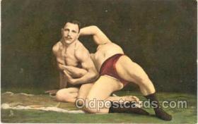 spo026007 - Wrestling Postcard Postcards