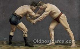 spo026012 - Ringkampf, Wrestling Postcard Postcards