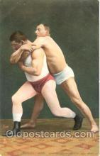 spo026020 - Ringkampf, Wrestling Postcard Postcards