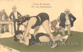 spo026024 - Artist Kristen, Wrestling Postcard Postcards