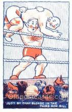 spo026038 - Wrestling Postcard Postcards