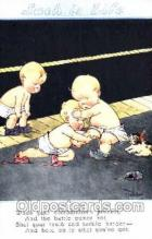 spo026042 - Artist Twelvetrees Wrestling Postcard Postcards