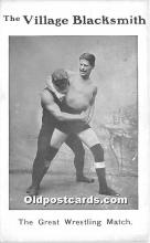 The Village Blacksmith, The Great Wrestling Match