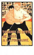 Tournoi de Lutt De Liege A La Fontaine