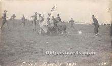 spo027134 - Old Vintage Football Postcard Post Card