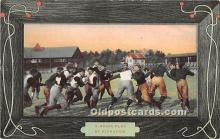spo027147 - Old Vintage Football Postcard Post Card