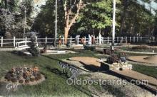 spo028036 - Miniature Golf, Postcard Postcards