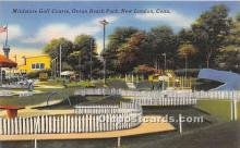 spo028062 - Old Vintage Miniature Golf Postcard Post Card